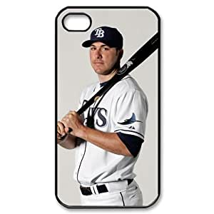 MLB iPhone 4,4S White Tampa Bay Devil Rays cell phone cases&Gift Holiday&Christmas Gifts NADL7B8824237