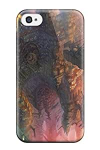 Ryan Knowlton Johnson's Shop animal ears brownbuilding Anime Pop Culture Hard Plastic iPhone 4/4s cases