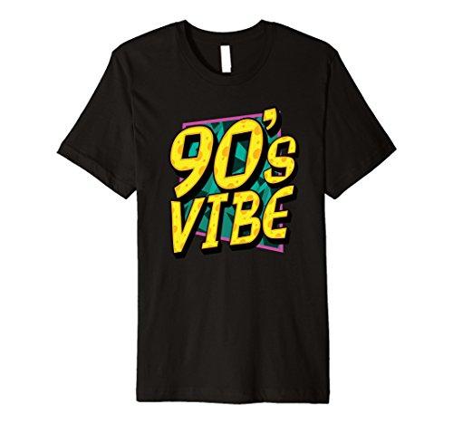 Mens 90's Vibe Cool Retro Vintage 1990s Slim