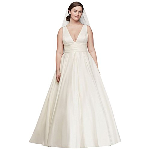 Satin-Cummerbund-Plus-Size-Wedding-Dress-Style-9V3848