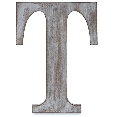 Clover Letters - The Lucky Clover Trading T Wood Block Letter, 14