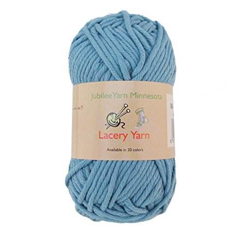 Bulky Weight Lacery Yarn 100g - 2 Skeins - 100% Cotton - Little Boy Blush - Color 004 ()