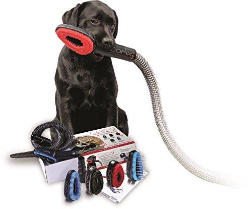 Cofix Hundebürste in Verbindung mit dem Staubsauger 3-er Kombi Kit mit 3 Bürstenaufsätzen nach Wahl
