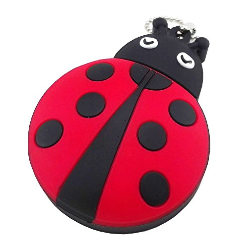 Ladybug Flash Drive (Aneew 16GB Red Pendrive Ladybug Insect USB Flash Drive Memory Thumb Stick)