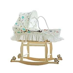 0-1 años Moisés Cesta bebé Cuna/portátil Cuna/cesta para dormir Cama ...
