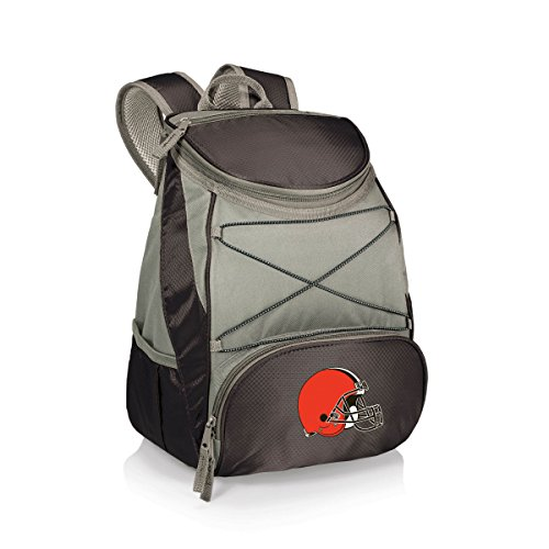 NFL Cleveland Browns PTX Insulated Backpack Cooler, Black