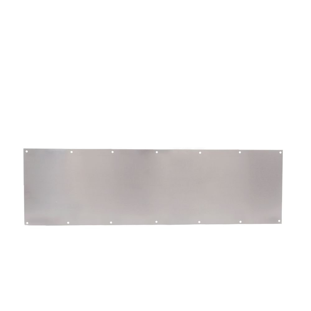 Trimco 10X34.630 Kick Plate, Stainless Steel, 10'' x 34''