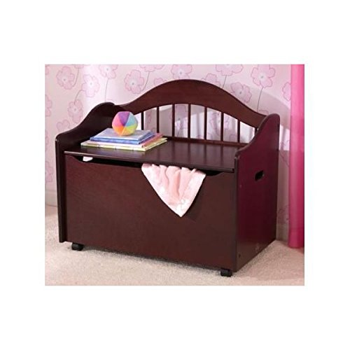 - KidKraft Limited Edition Toy Chest on Casters (14141) Cherry