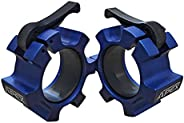 """Barbell Collar, Quick Release Clamp, for 2"""" Olympic Bar [Blue/B"""
