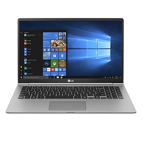 LG gram 15.6u0022 IPS Full HD Touchscreen Notebook Computer, Intel Core i7-8565U 1.80GHz, 16GB RAM, 1TB SSD, Windows 10 Home, Dark Silver