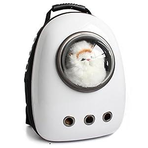 Astronauta Cápsula Mochila para mascotas Aerolínea Aprobado Transparente Respirable Venthole Perro Portador de gato…