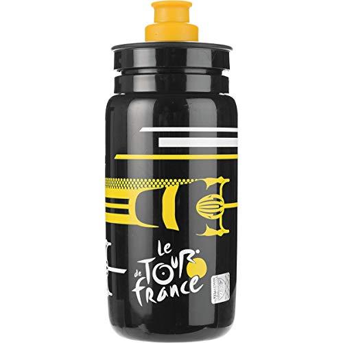 Tour De France Water Bottle (Elite Fly Tour De France Black Race 550 ml)