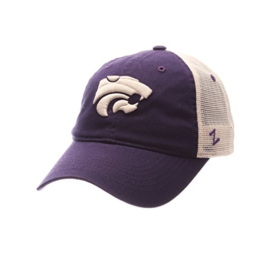 NCAA Kansas State Wildcats Adult Men University Relaxed Cap, Adjustable, Team - Kansas State Mesh Wildcats