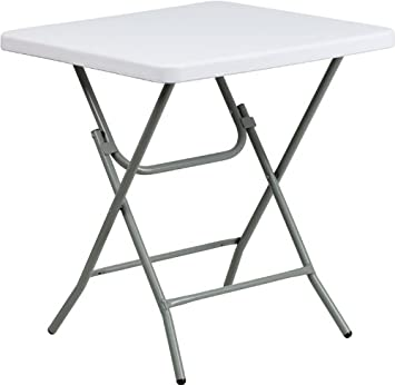 furniture granite ac x table dp folding plastic com l white flash w amazon