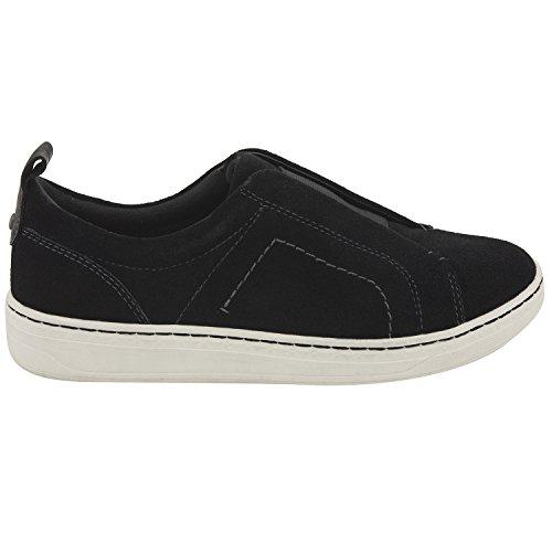 Earthies Delle Donne Zetta Sneaker In Camoscio Nero