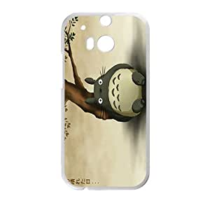 My Neighbor Totoro Cute Cartoon Anime White HTC M8 case