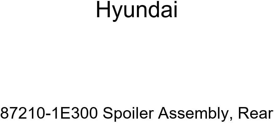 Genuine Hyundai 87210-1E300 Spoiler Assembly Rear