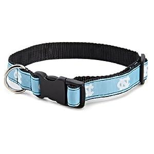 All Star Dogs NCAA North Carolina Tar Heels Dog Collar (Team Color, Medium)