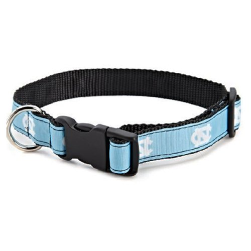 All Star Dogs NCAA North Carolina Tar Heels Dog Collar (Team Color, Medium)