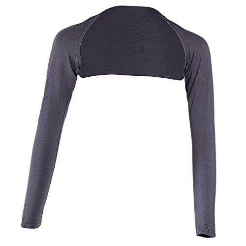 Baosity イスラム教徒 ボレロ アームカバー ショルダー フリーサイズ 連肩 長袖 軽量 伸縮性 多色選べ