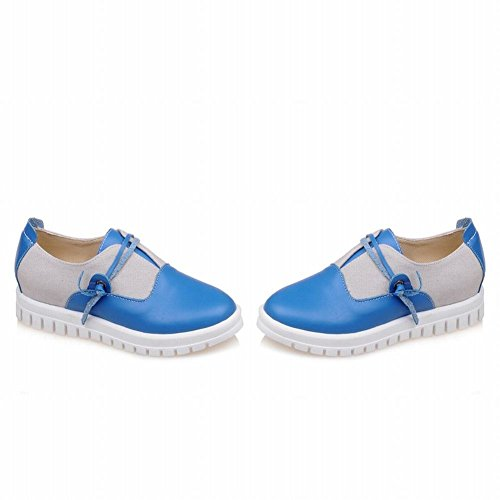 Show Shine Damesmode Assortiment Kleuren Loafers Flats Schoenen Blauw