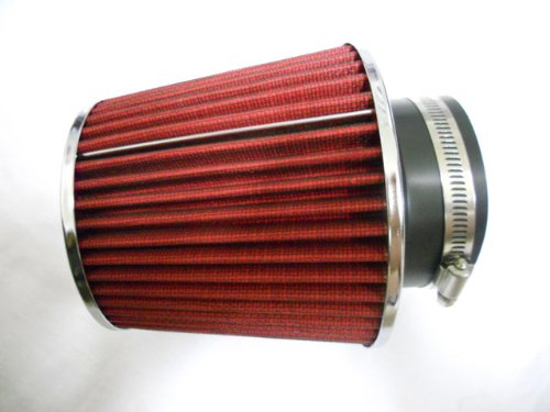 - 2.75 Inch High Performance Racing Red Air Filter (New)