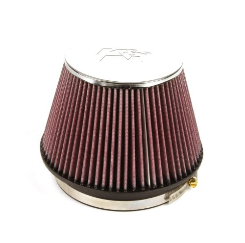 K&N RC-2960 High Performance Universal Clamp-on Chrome Air Filter