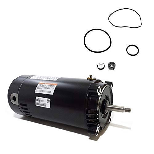 Replacement 56j Motor 230v - Puri Tech Hayward Super II 1.5HP SP3010X15AZ Replacement Motor Kit AO Smith UST1152 w/GO-KIT-2
