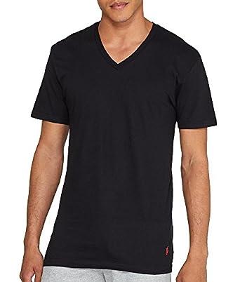 Polo Ralph Lauren Men s Classic V-Neck Undershirts 3-Pack at Amazon Men s  Clothing store  2cf874945c9