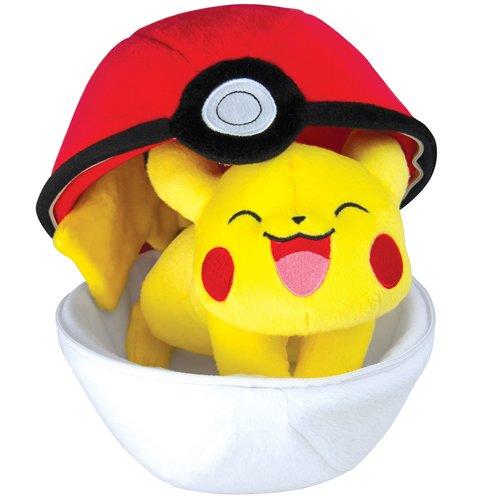 Pokémon Plush: Pikachu in a Pokeball by Pokemon
