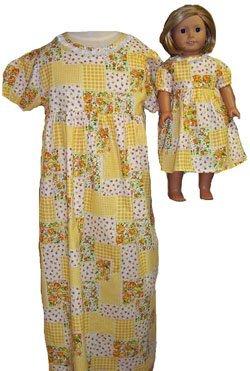 一致する少女と人形ClothesパッチワークNightgownサイズ5 B00ZQ7FG3S B00ZQ7FG3S, ベビーとママの「すきやんはうす」:a2891af3 --- arvoreazul.com.br