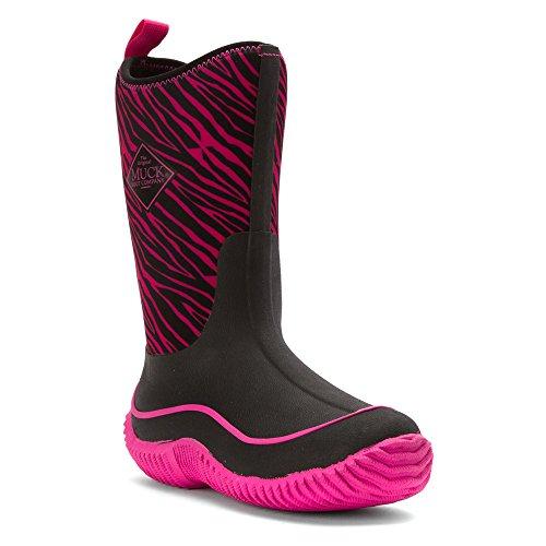 Bottines Bleu Rose Zebra Boots Noir de Mixte Pluie et Bottes Pink Hale Muck Enfant PIORnqHq