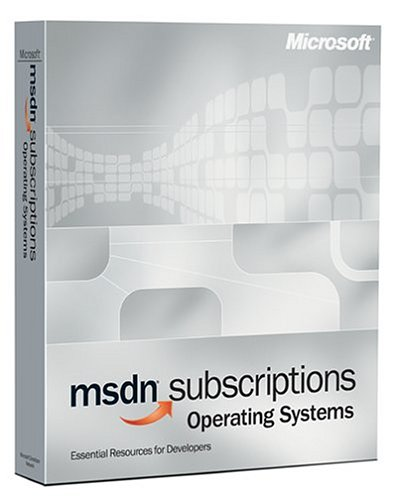Amazon com: Microsoft MSDN Operating Systems Subscription