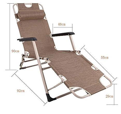 Sillas reclinables Plegables al Aire Libre en el Patio ...