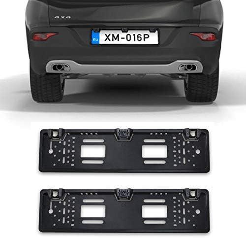 リバースカメラ PZ600L-2 12 DCVヨーロッパ車のライセンスプレートフレームフロントリアビューカメラ