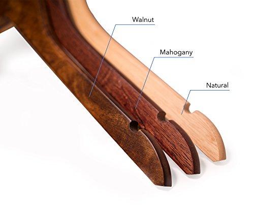 Topline Classic Wood Shirt Hangers - Cherry Finish (10-Pack) by Topline (Image #4)