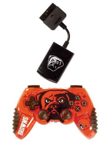 Playstation 2 Cleveland Browns Wireless Game Pad