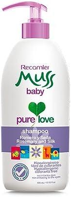 Amazon.com: Muss shampoo baby, Romero, Seda, hipoalergenico ...
