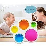 Ashudan Silicone Baby Simple Sensory Toys,Flipping