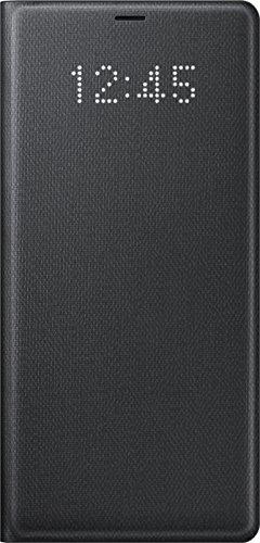 Genuine Samsung LED View Cover Flip Wallet Case for Samsung Galaxy Note 8 / Note8 - Black (EF-NN950PBEGWW)