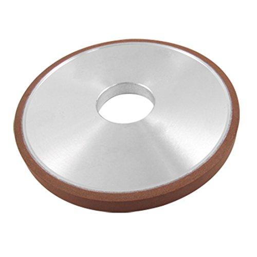 uxcell 125x10x32x4mm 180 Grit 75% Resin Bond Diamond Grinding Wheel Grinder Plain Type