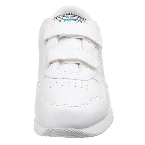 Propet  Life Walker Strap, Herren Walkingschuhe schwarz schwarz, weiß - weiß - Größe: 41 EU