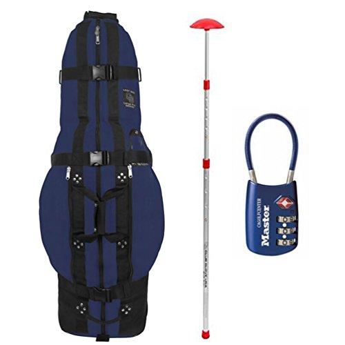 Club Glove Last Bag Pro Golf Travel Cover w/ Free Stiff Arm & TSA Lock (Golf Pro Bag)