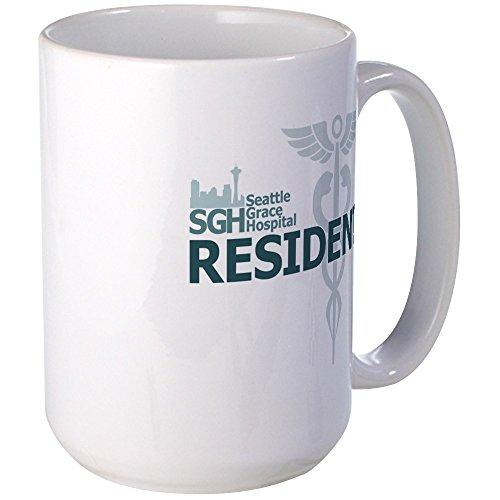 CafePress - Seattle Grace Resident - Coffee Mug, Large 15 oz. White Coffee Cup