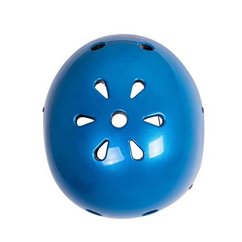 Kiddimoto Helmet, Metallic Blue, Small (48-53 cm) by Kiddimoto (Image #5)