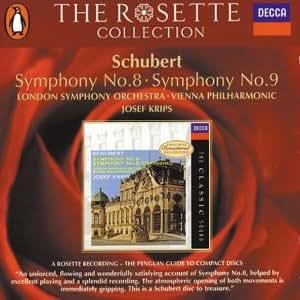 schubert symphonies 8 amp 9   amazon   music