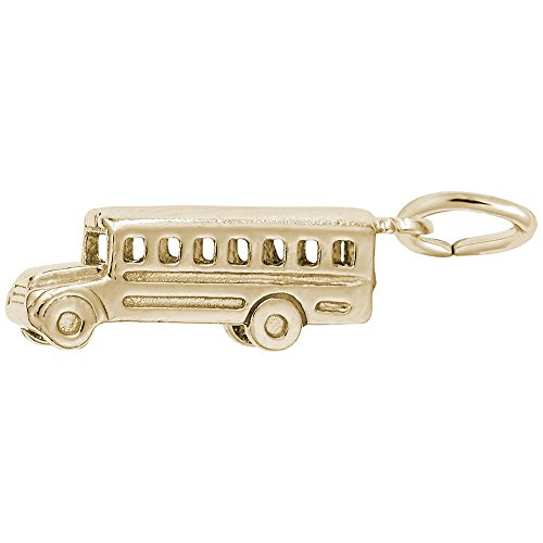 10k Yellow Gold School Bus Cha