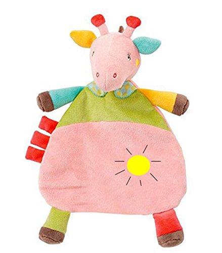 Sun Glower Edredón Juguetes Marioneta de Mano Toalla de Mano Suave Peluche de bebé Juguete Lindo de Alce_Rosa: Amazon.es: Juguetes y juegos