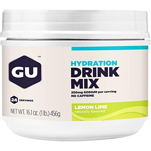 GU Hydration Drink Mix, Lemon Lime, 16.1 Ounce (Endurance Drink)