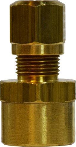 - Midland 38-068 Brass D.O.T. Air Brake Nylon Tubing Female Adapter, 5/8
